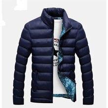 16583ab7c63 2018 новые куртки парка Для мужчин Лидер продаж Качество осень-зима теплая  верхняя одежда брендовая