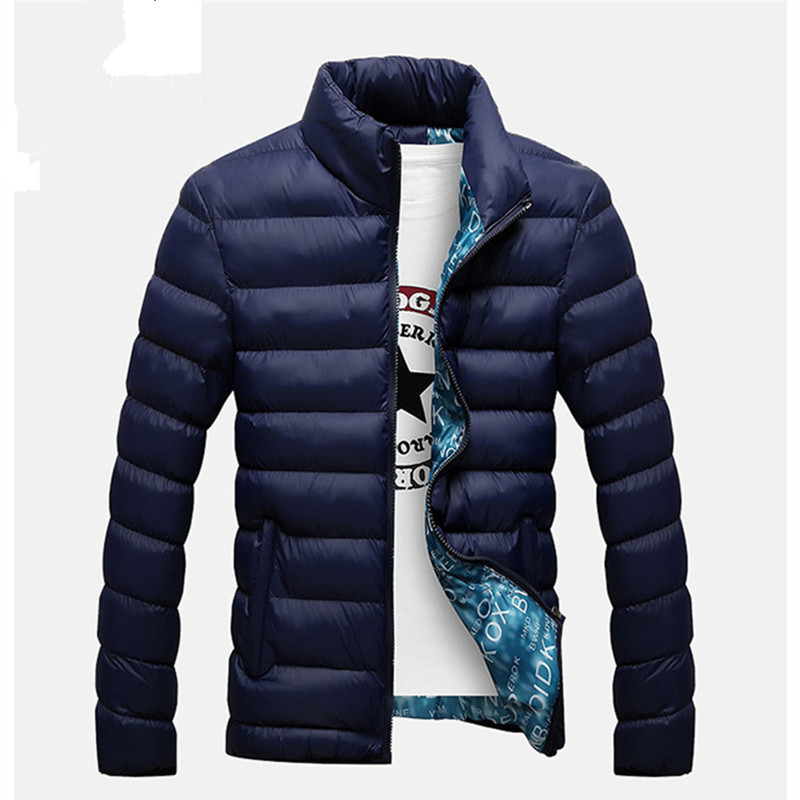 BSETHLRA Autumn Winter Coats Casual Windbreak Jackets Men