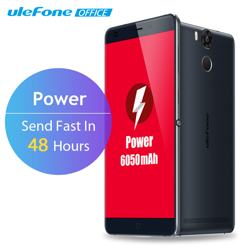 Ulefone Power Mobile Phone 5.5 Inch FHD 3GB RAM 16GB ROM 13MP 4G LTE Fingerprint ID 6050mAh
