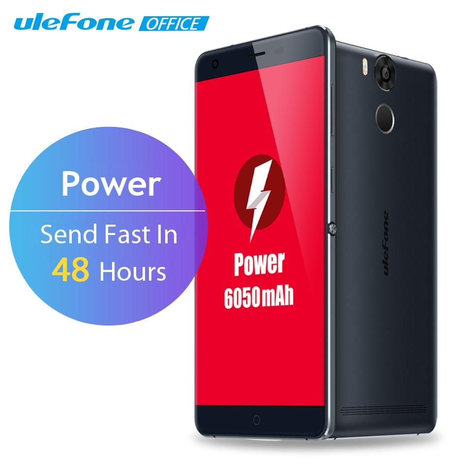 Ulefone Power Mobile Phone 5.5 Inch FHD 3GB RAM 16GB ROM 13MP 4G LTE Fingerprint ID 6050mAh