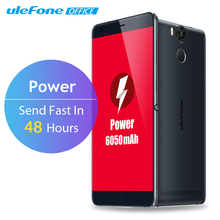 Ulefone Power Mobile Phone 5.5 Inch FHD MTK6753 Octa Core Android 5.1 3GB RAM 16GB ROM 13MP 4G LTE Fingerprint ID 6050mAh