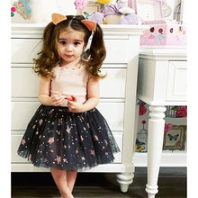 Baby Girl Frocks Summer 2019 Princess Cotton Girls Fashion Clothing  Party Lace Costume Dresses