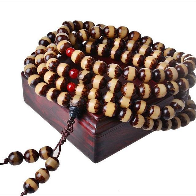 Vintage High grade fashion Temperament Wooden Bead Bracelet for women male bracelet male jewelry Accessories LQ