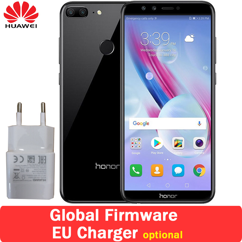 """Оригинальный huawei Honor 9 Lite 5,65 """"полный Экран мобильного телефона Восьмиядерный двойной спереди и сзади 4 камеры 13.0MP 3000 мАч"""