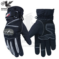 2016 New Men Motorcycle Gloves Outdoor Sports Full Finger Knight Riding Motorbike Breathable Racing Bicycle Cycling