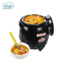 ITOP 10L кафе Суп Чайник Суп теплее подходит для горячих напитков магазин/Кофе дом мокрый тепла кипятильный 110 V 220 V