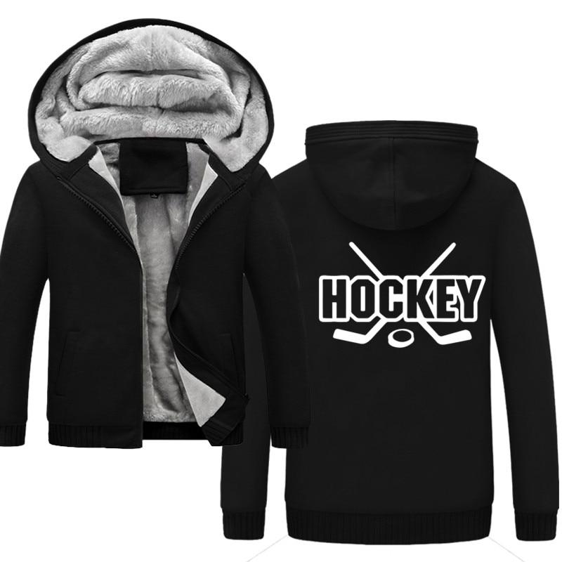2019 Heißer Winter Hockey Neue Druck Pullover Sweatshirts Casual Mode Jungen Hoodie Hoody Streetwear Hombre Mens Hoodies Einfach Zu Schmieren