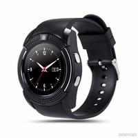 V8 relogios watches reloj inteligente SmartWatch Bluetooth Touch Screen Wrist Watch with Camera/SIM Card Slot Waterproof reloj