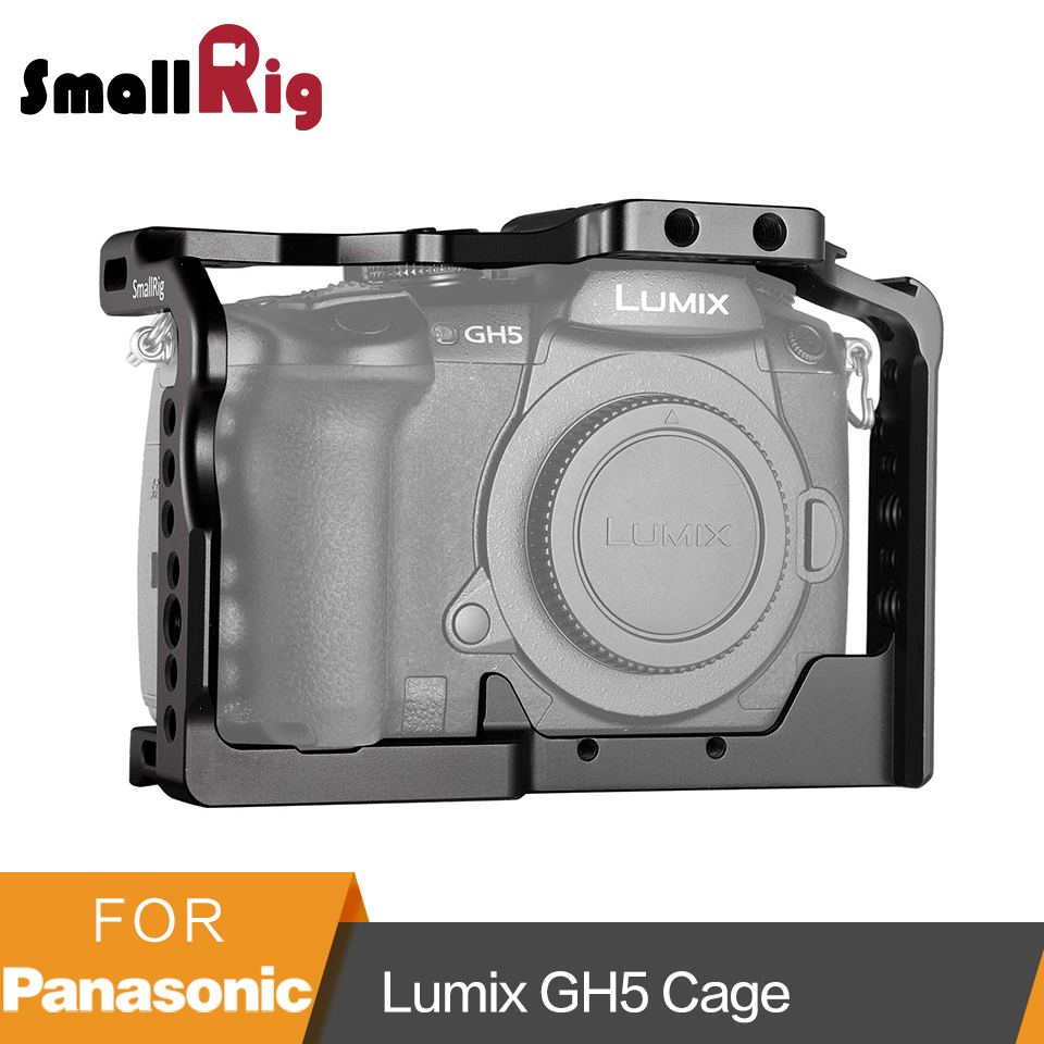 SmallRig Cage for Panasonic Lumix GH5 2049 Video Stabalization Camera Protection