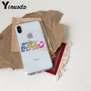 Image 2 - Yinuoda סיילור מון TPU רך גומי מקרה טלפון כיסוי עבור iPhone 8 7 6 6S בתוספת X Xs Xr xsMax 5 5S SE 5c Coque