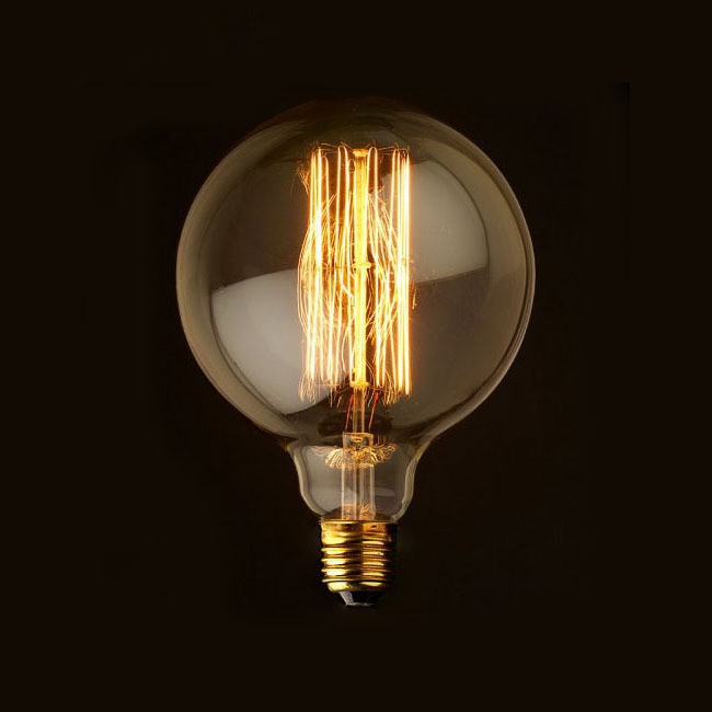 G80 G95 Vintage Edison Bulb Light Incandescent Bulbs E27 40w Home Decoration Light Bulb Antique