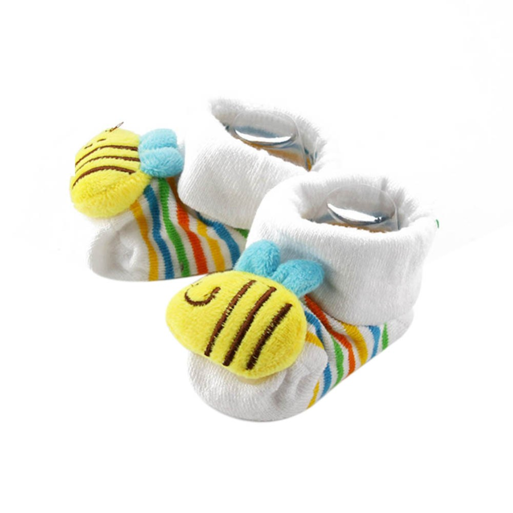 Cartoon Kid Newborn Baby Girls Boys Socks Slipper Shoes Boots Booty Booties Bootee