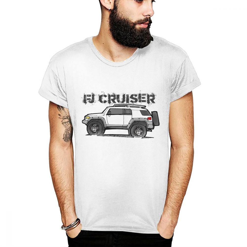 Leisure FJ CRUISER T shirt Car Suv Tees For Man 2019 New Arrival Round Neck Camiseta 3D Print Nice Casual Tees