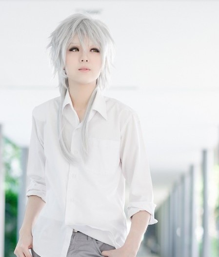 New Anime Hot Selling Psycho Pass Silvery White High Temperature