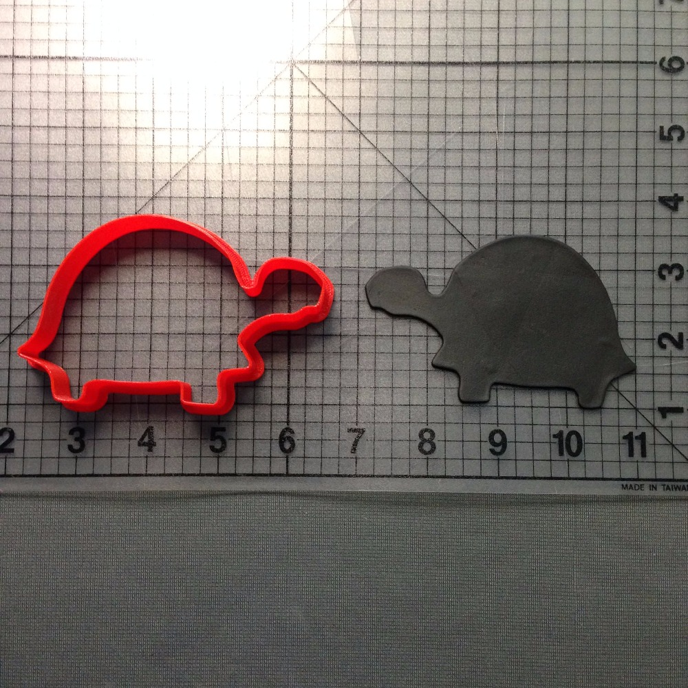 Sea Turtle And Turtle Series Cookie Cutter Set Cake Decorating Tooks Custom Made 3D Printed Fondant Cupcake Kitchen Accessories in Cookie Tools from Home Garden