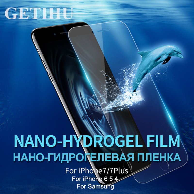 Nano Film Screen Protector Protective than Tempered Glass For iPhone 7 6 6s plus 5 5s SE 4 4s Samsung Galaxy S4 S5 S6 Note 3 4 5