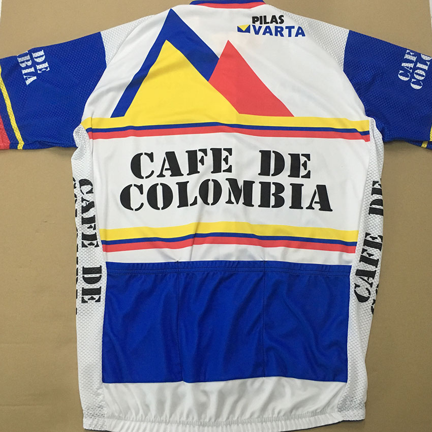 b9d660b6926 SPEED PEAK CAFE DE COLOMBIA Cycling Jersey Top Men Short Sleeve Summer  Quick Dry Classic Racing MTB Bike Clothing Jersey-in Cycling Jerseys from  Sports ...