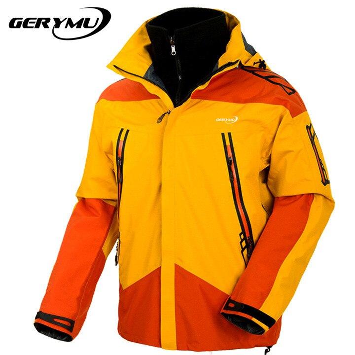 ФОТО Winter Outdoor Snowboard Men Jacket Mountaineer Hiking Sports Winter Rain Ski Waterproof Windbreak Hunting Camping Coat