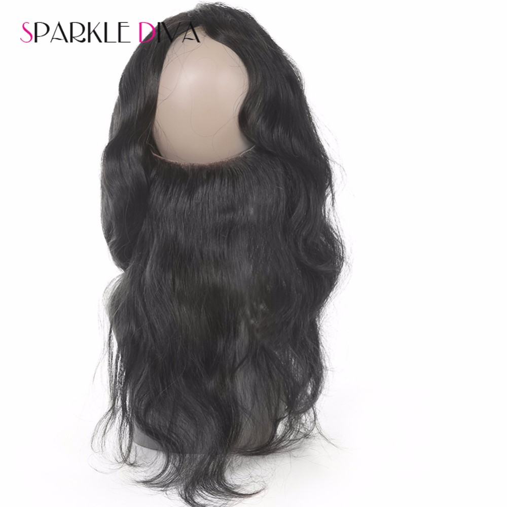 Ear To Ear Lace Frontal Closure With Bundles 360 Lace Frontal with bundle Brazilian Virgin Hair Straight With Natural Hairline cheaphuman hair
