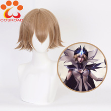 Cosroad Game LOL LeBlanc Women Cosplay Costume Wigs League of Legends Halloween Brown