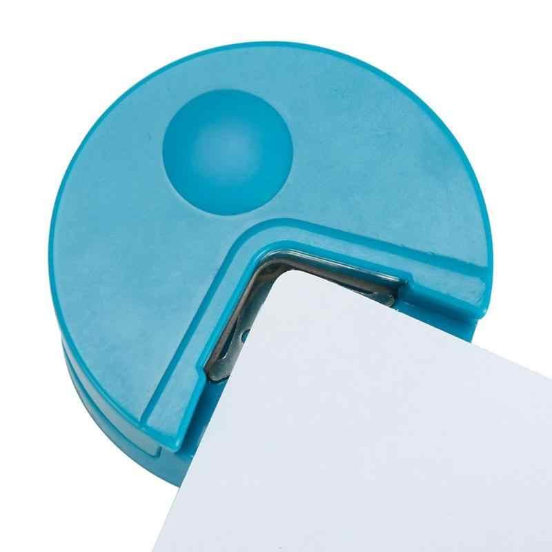 1 шт. R4 угловая круглая 4 мм бумажная ударная карта фото инструмент для ремесла скрапбукинга DIY Разноцветные инструменты