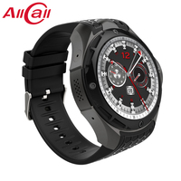 ALLCALL W2 3G Smartwatch Phone Android 7.0 IP68 waterproof Smart watch MTK6580 Quad Core 1.3GHz Heart rate monitor Call Message