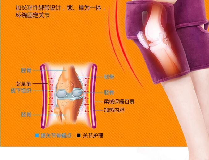 Kneading Vibrating Knee Massage Heating Moxibustion Therapy Electrical Leg Belt Gloves Joint Arm Massager Relief Pain joint therapy electrical heating kneading knee massage vibrating moxibustion leg belt gloves arm massager tool health care