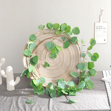 Artificial Silk Flowers Vine Rattan Fake Leaves Garland