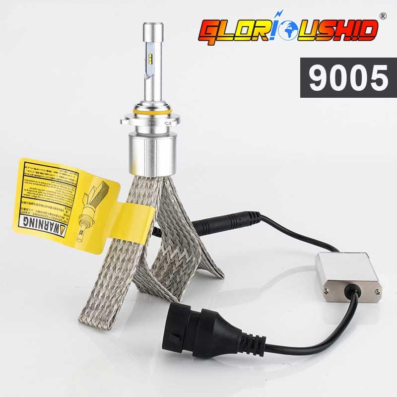 R3 LED Avtomobil HB3 90W 10000lm 9005 9006 HB4 Avtomobil Led Fara - Avtomobil işıqları - Fotoqrafiya 1