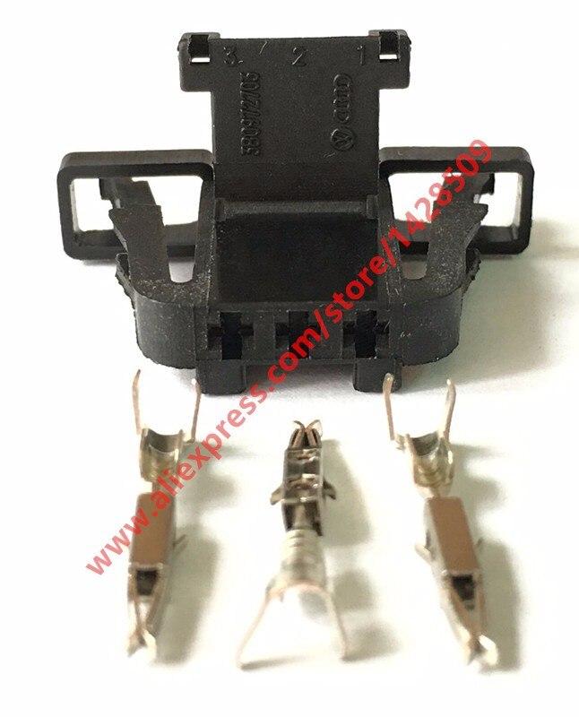 20 Наборы для ухода за кожей 3 Булавки авто рог разъем автомобильного Провода разъем для VW Skoda Superb