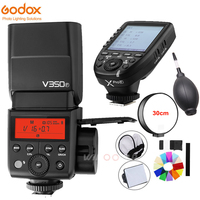 Godox V350F TTL 1/8000s HSS 2.4G Wireless Flash Speedlite Master Slave with Xpro F Transmitter for Fuji Camera X Pro2 X T20 X T1