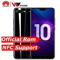 Huawei Honor 10 6G 64G honor10 19:9 Full Screen 5.84 inch AI Camera 24.0MP Mobile Phone Octa Core Fingerprint ID NFC