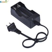 Slots de AC Duplo para 18650 Melhor Preço! Preto 2 110 V 220 Carregador 3.7 Li-ion Recarregável Bateria EUA Plug UE Adaptador de Carga 27ma2