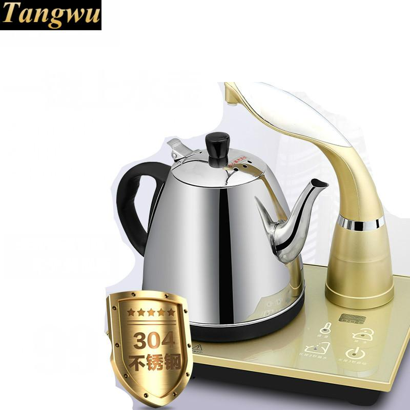 automatic kettle electric USES 304 stainless steel  make tea Safety Auto-Off Functionautomatic kettle electric USES 304 stainless steel  make tea Safety Auto-Off Function