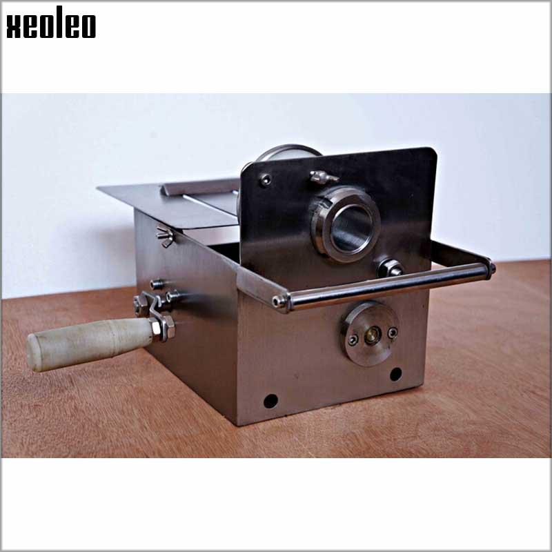 Xeoleo Manual Tie Sausage Machine for tie sausage 0-32/10-42mm/15-52mm Hand tie-ray machine Stainless steel Sausage Tie machine