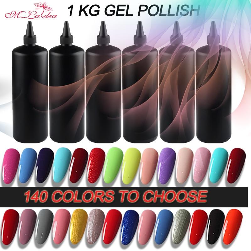 m.ladea Bulk Nail Colorful Polish Bubble UV Paint Bright Color Kg Wholesale Lasting Color