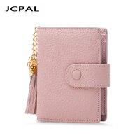 Genuine Leather Credi Card Wallet RFID Front Pocket Wallet Women ID Card Pack Bank Card Holder