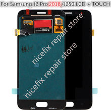 For Samsung Galaxy J2 Pro 2018 LCD J250 J250F/DS Display Touch Screen Digitizer Replacement for Samsung J2Pro 2018 lcd Display(China)