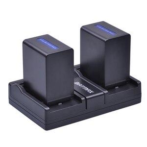 Image 4 - 2 pièces 4500mAh NP FH100 NP FH100 Batterie + Chargeur Double USB pour Sony DCR SX40 SX40R SX41 HDR CX105 FH90 FH70 FH60 FH40 FH30 FP50