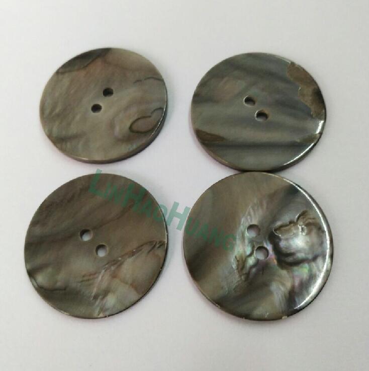 Большие кнопки природные оболочки 30 шт. 30 мм 2 отверстиями жемчужина мать кнопки Бесплатная доставка 2016052401 ...