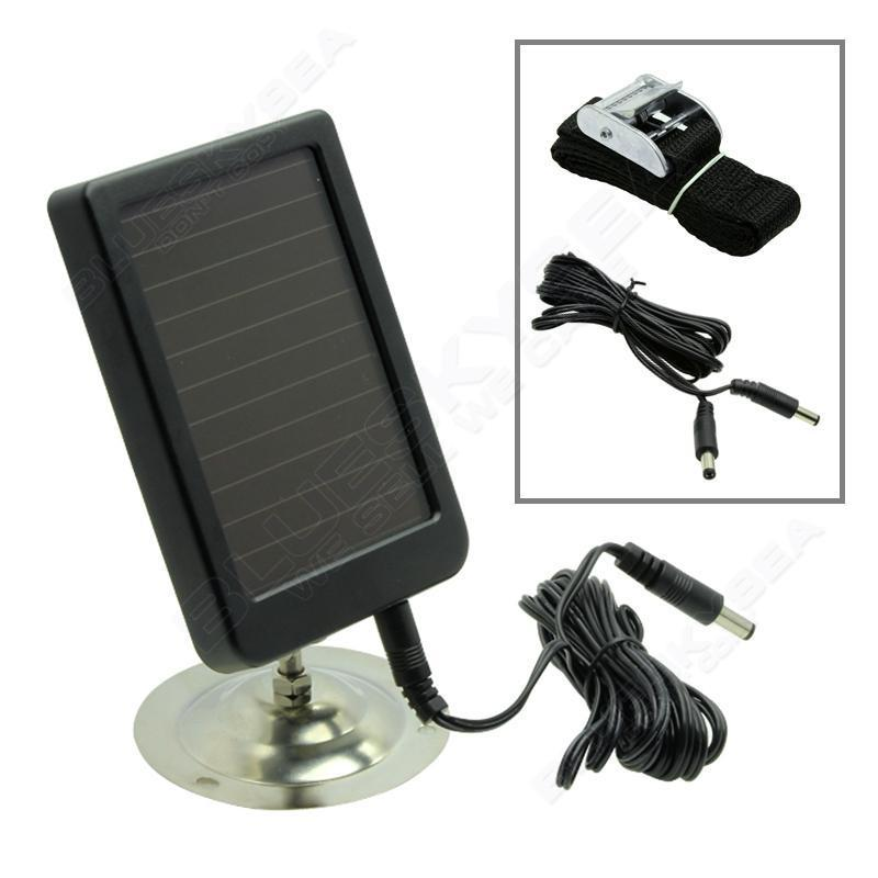 6V Solar Charger Panel Hunting Camera Photo Trap Power for 5210A 5210MC 5210MM 6210MC 6210MM Hunting Camera