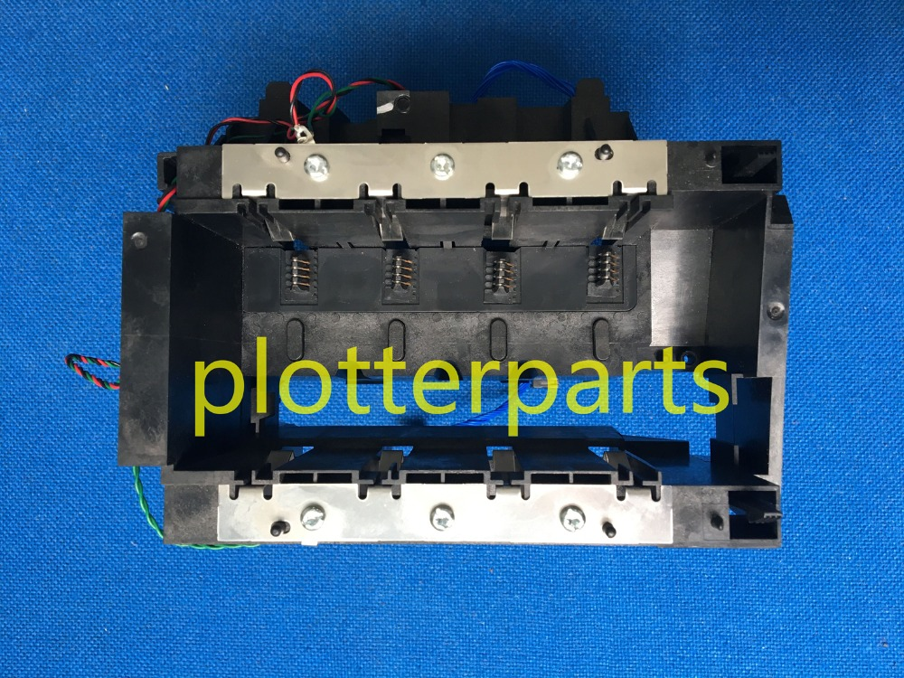 C7769-60373 C7769-60148 Ink Supply Station (ISS) for HP DesignJet 500 500PS 800 800PS 815MFP 820 Used plotter parts q1251 60252 c6090 60041 hp designjet 5000 5100 5500 ink supply station iss pc board original used