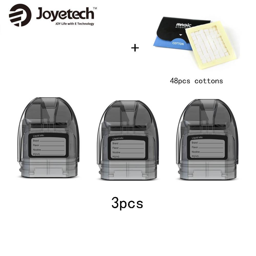 Joyetech Atopack Magic Pod Cartridge 2ml/7ml Capacity for Joyetech Atopack Magic Kit with 0.6ohm NCFilm heater & 48pcs CottonsJoyetech Atopack Magic Pod Cartridge 2ml/7ml Capacity for Joyetech Atopack Magic Kit with 0.6ohm NCFilm heater & 48pcs Cottons