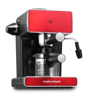 2015 5 Bar Red Mini Stainless Steel Espresso Cappuccino Coffee