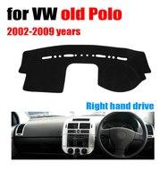 Auto armaturenbrett abdeckungen matte für VOLKSWAGEN VW alte polo 2002 2009 rechtslenker dashmat pad dash armaturenbrett abdeckung zubehör-in Auto-Anti-Schmutz-Pad aus Kraftfahrzeuge und Motorräder bei
