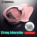 Remax 360 Металл Палец Кольцо Мобильный Телефон Смартфон Подставка-Держатель для iPhone 7 Samsung Смартфонов GPS MP3 Автомобиля стенд