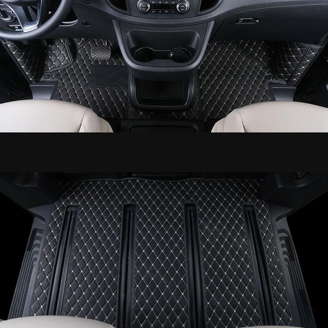 2018 Mercedes Benz Metris Cargo Interior: Lsrtw2017 Fiber Leather Car Floor Mat For Mercedes Benz V