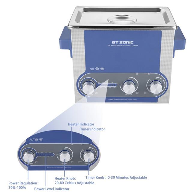 Clerance 3L Digital Heated Ultrasonic Cleaner Ultrasonic Bath Ultrasonic Washing Machine GTSONIC-P3