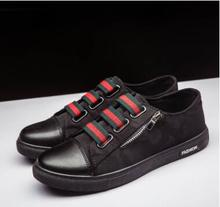 2018 new Autumn one pedal canvas men's shoes low to help breathable trend casual shoes buckle lazy student shoes the new lazy shoes a pedal female student harajuku style plaid canvas shoes