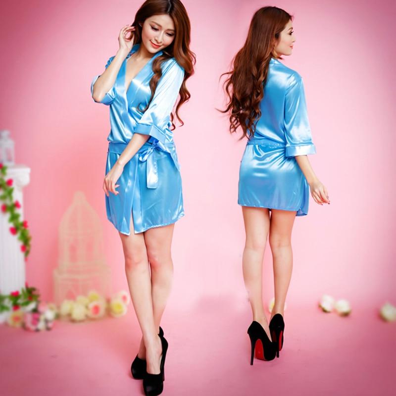 Nightgowns Sexy Large Size Women's Clothing Lace Sleepshirts Bathrobe Adult Extreme Temptation Suit Free Shipping #4